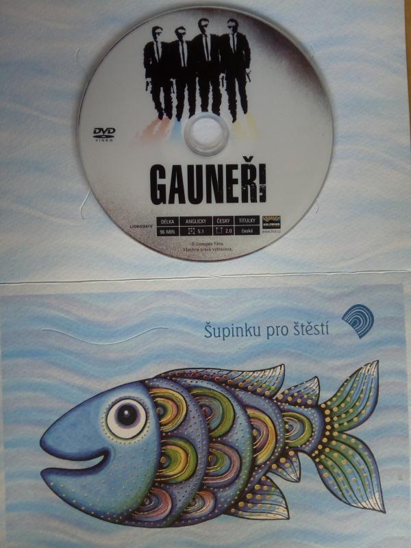 Gauneři (dárková obálka) DVD