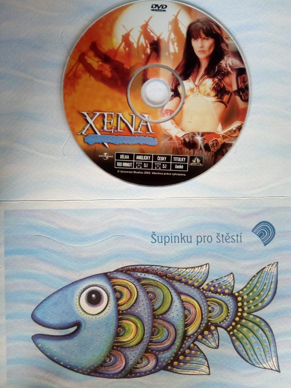 Xena DVD (dárková obálka)