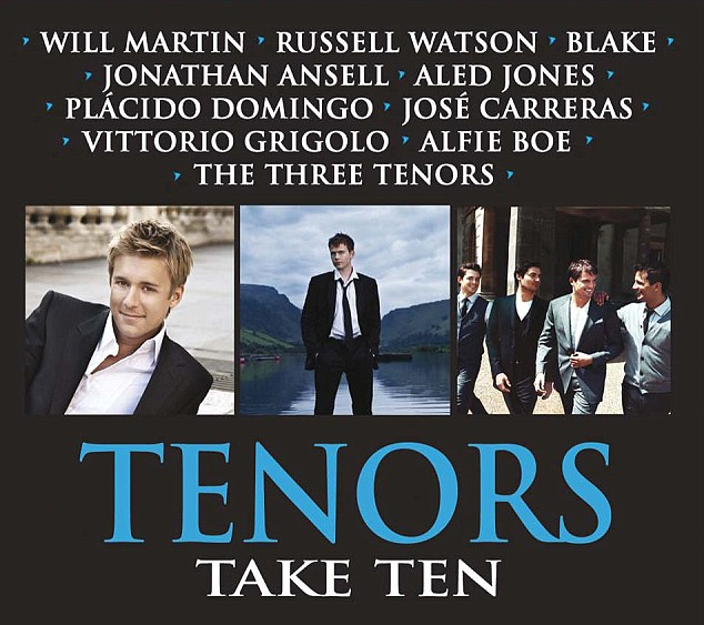 Tenors Take Ten CD