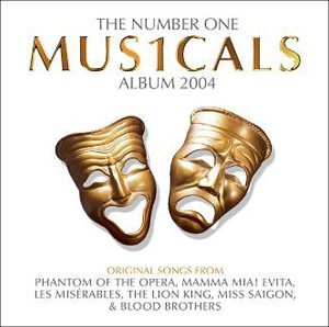 The number one musicals album CD (bazarové zboží)