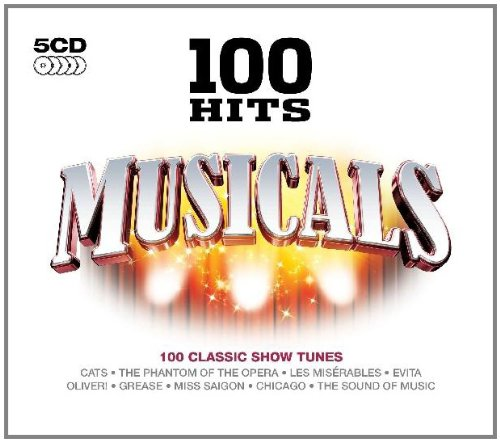100 Hits Musicals 5CD