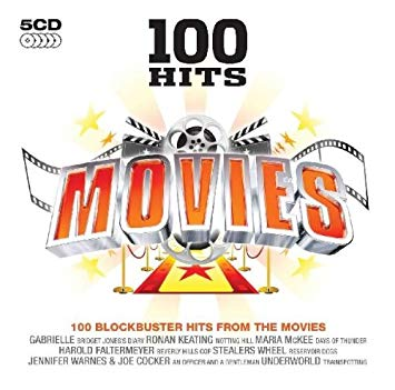 100 Hits Movies 5CD