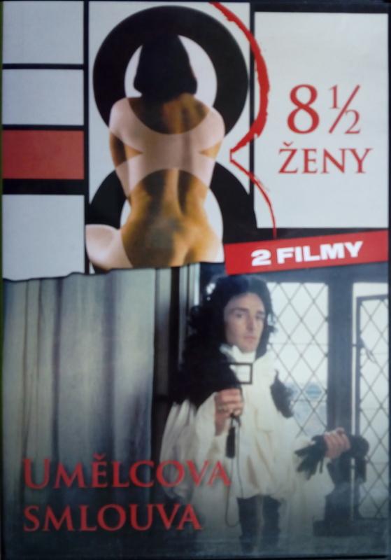 8 1/2 ženy / Umělcova smlouva (původní znění, CZ titulky) DVD