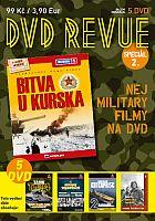DVD Revue Speciál 2 - Nej Military filmy na DVD - 5x DVD