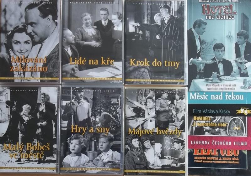 Kolekce starý český film 26. - 6DVD plast + 4DVD dárek