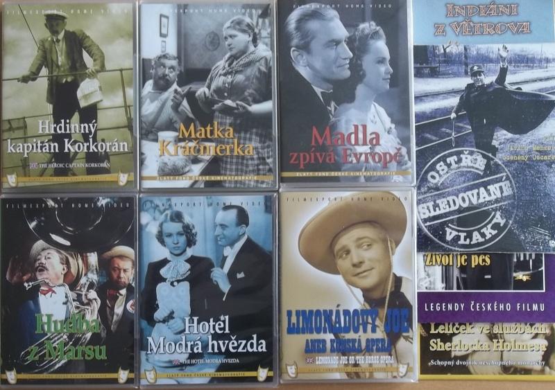 Kolekce starý český film 25. - 6DVD plast + 4DVD dárek