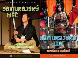 2x DVD Samurajský meč + Samurajský luk - papírové pošetky