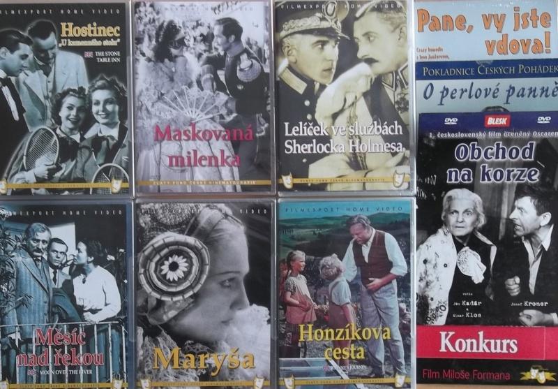Kolekce starý český film 24. 6DVD plast + 4DVD dárek