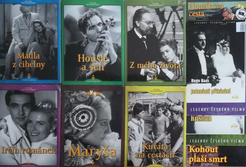 Kolekce starý český film 23. 6DVD + 4DVD dárek