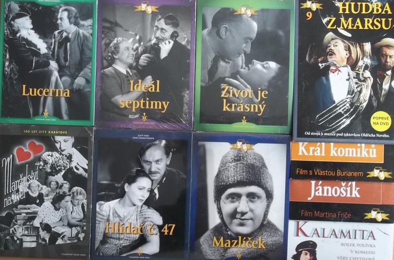 Kolekce starý český film 22. - 6DVD + 4DVD dárek