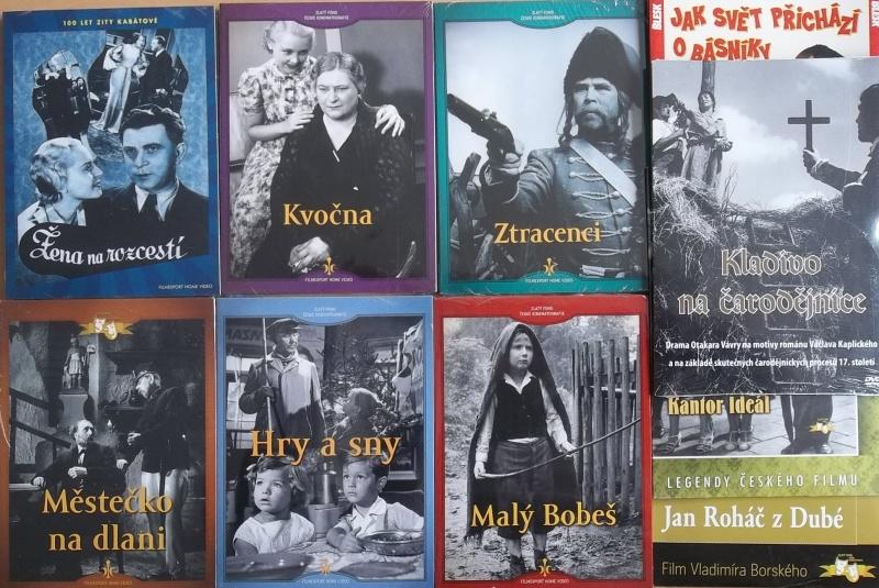 Kolekce starý český film 21. - 6DVD + 4DVD dárek