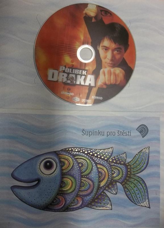 Polibek Draka (dárková obálka) DVD
