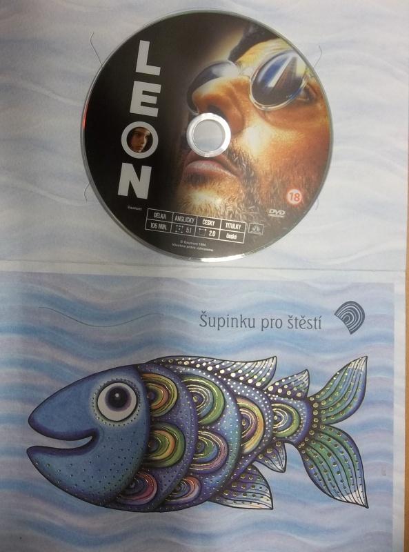 Leon (dárková obálka) DVD