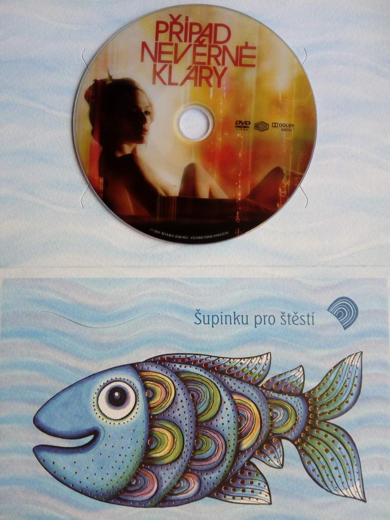 Případ nevěrné Kláry (dárková obálka) DVD