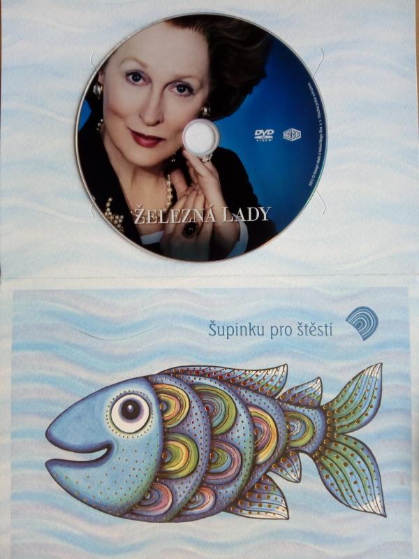 Železná Lady (dárková obálka) DVD