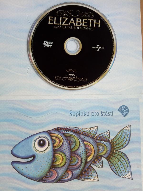 Elizabeth (dárková obálka) DVD