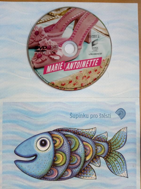 Marie Antoinette (dárková obálka) DVD