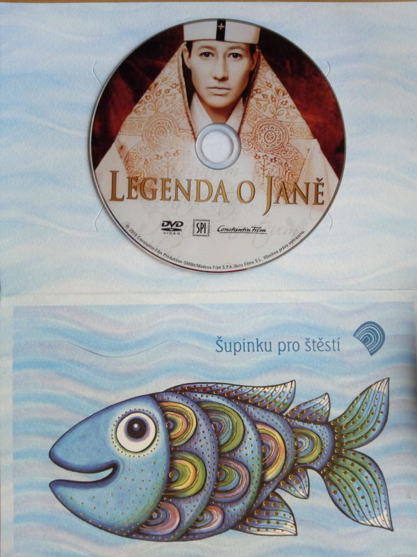 Legenda o Janě (dárková obálka) DVD