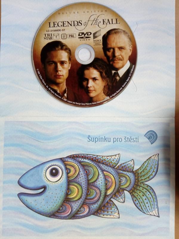 Legends of the Fall (dárková obálka) DVD