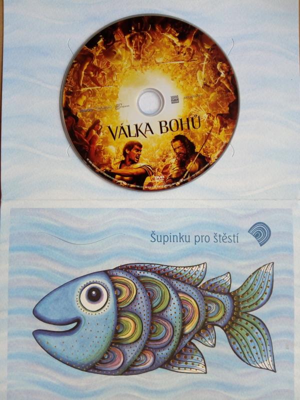 Válka bohů (dárková obálka) DVD