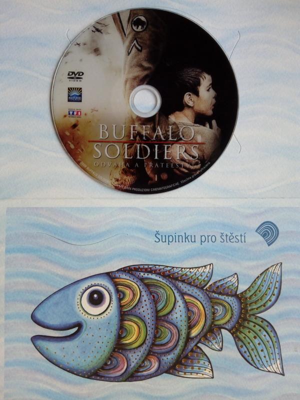 Buffalo Soldiers: Odvaha a přátelství (dárková obálka) DVD