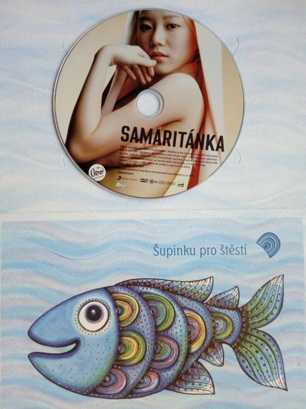 Samaritánka (dárková obálka) DVD