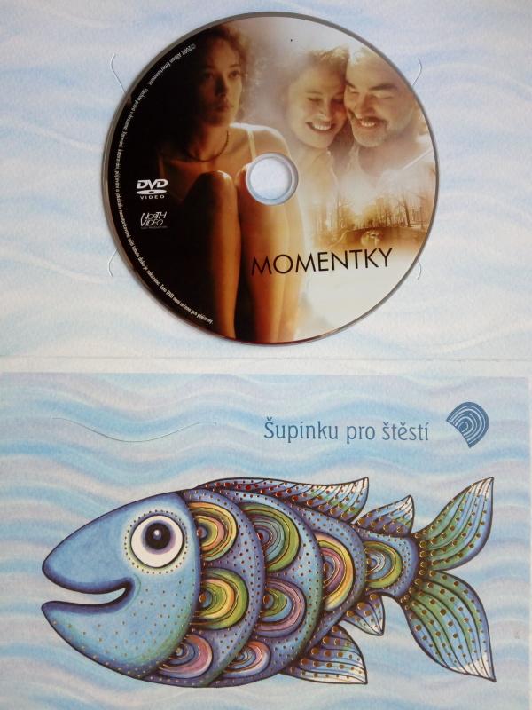 Momentky (dárková  obálka) DVD