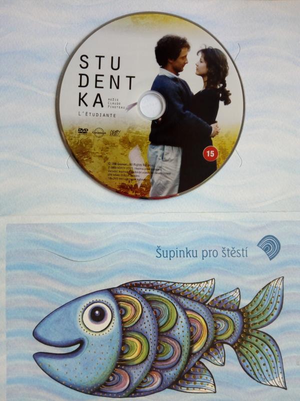 Studentka (dárková obálka) DVD