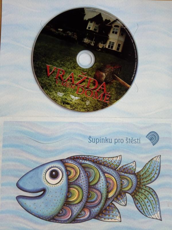 Vražda v mém domě (dárková obálka) DVD