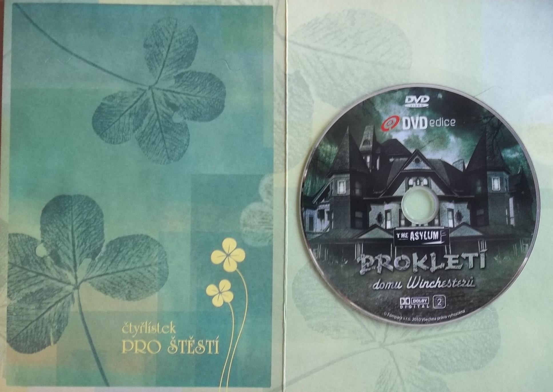 Prokletí domu Winchesterů (dárková obálka) DVD