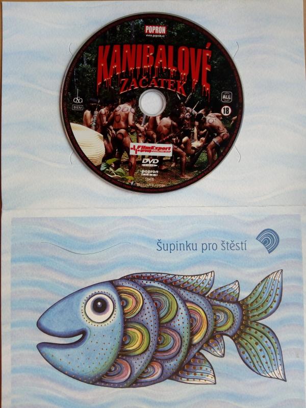 Kanibalové: Začátek (dárková obálka) DVD