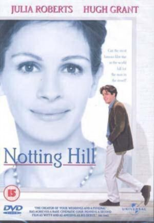Notting Hill DVD plast