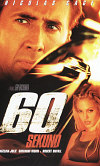 60 sekund DVD plast