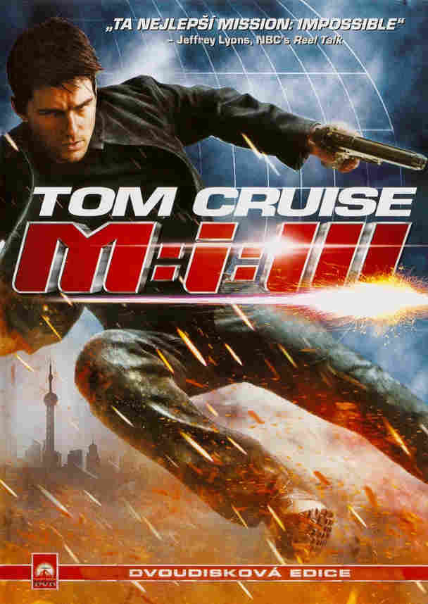 Mission Impossible III DVD plast