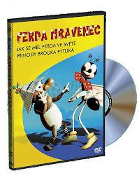 Ferda Mravenec (loutkový) DVD plast