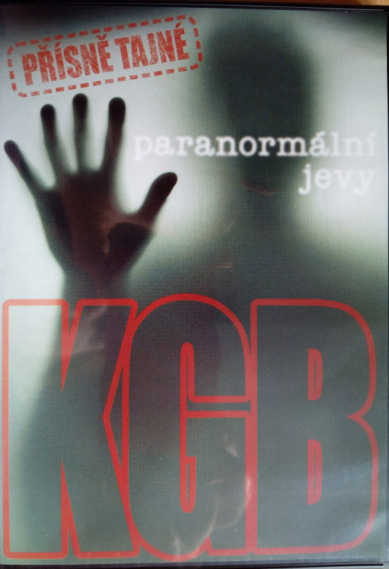 KGB paranormální jevy (původní znění, cz titulky) DVD plast