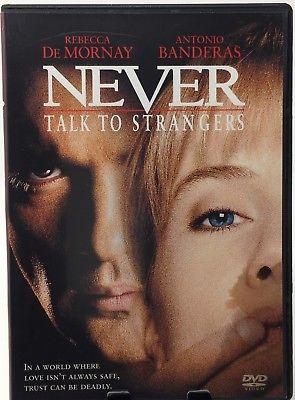 Schůzka s cizincem / Never talk to strangers (původní znění, cz  titulky) DVD plast