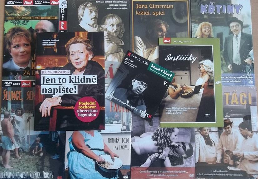kolekce Jiřina Jirásková ( 1x kniha+10 DVD )