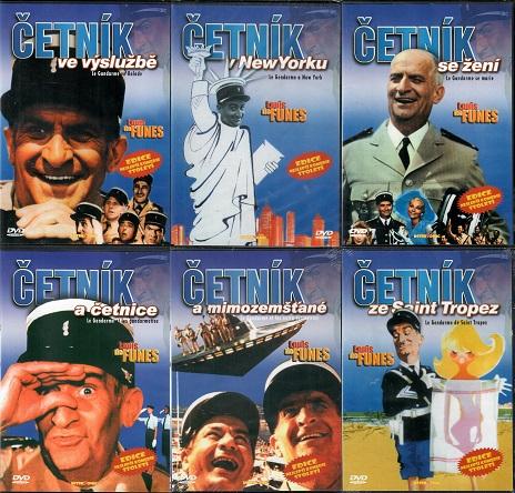Kolekce Četník 6x DVD ( 4 x slim + 1x pošetka )