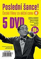 Poslední šance č. 8 - 5x DVD - papírové pošetky
