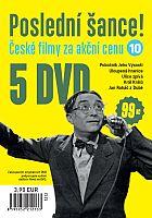 Poslední šance č. 10 - 5x DVD - papírové pošetky