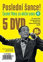 Poslední šance č. 9 - 5x DVD - papírové pošetky