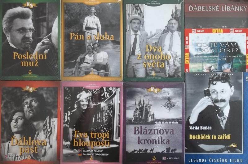 Kolekce starý český film 28. - 6DVD + 3DVD dárek