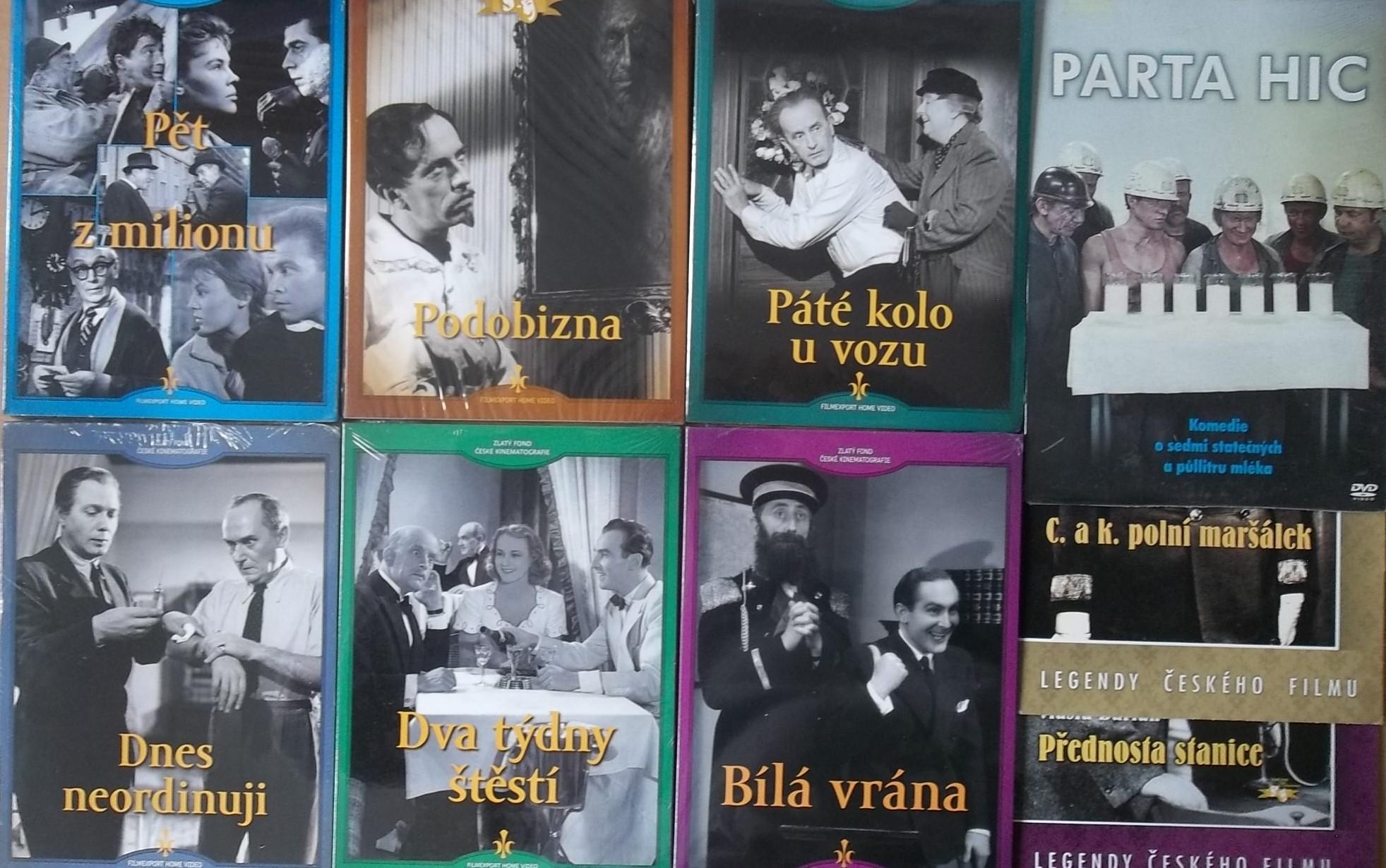 Kolekce starý český film 29. - 6DVD + 3DVD dárek
