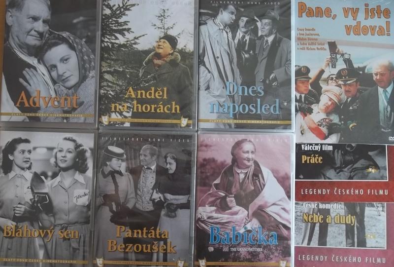 Kolekce starý český film 30. - 6DVD PLAST + 3DVD dárek
