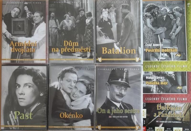 Kolekce starý český film 32. - 6DVD PLAST + 3DVD dárek