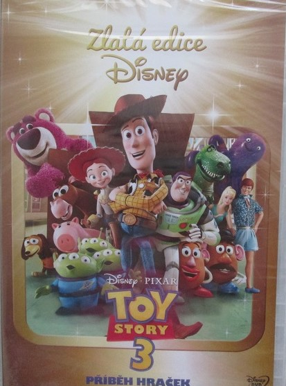 Toy story 3 - DVD plast