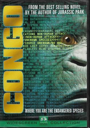 Congo / Kongo ( plast ) DVD