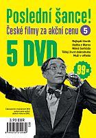 Poslední šance č. 5 - 5x DVD - papírové pošetky