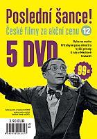 Poslední šance č. 12 - 5x DVD - papírové pošetky
